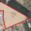 Aerial view and Plat Map of 14182 River Road AG Land